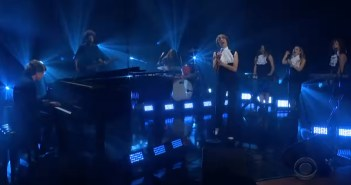 bird and the bee and dave grohl corden