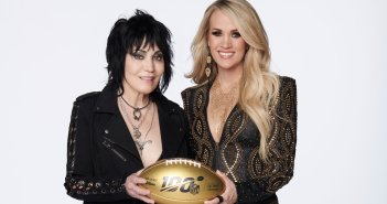 Joan Jett and Carrie Underwood (via @SNFonNBC)