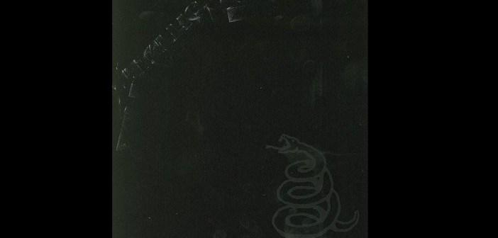 metallica black album banner