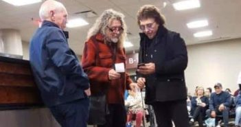 robert plant and tony iommi at the airport