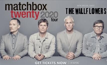 matchbox twenty tour 2020