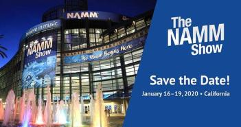The Namm Show 2020 Save the Date