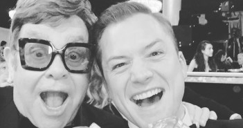 taron egerton and elton john rocketman golden globes