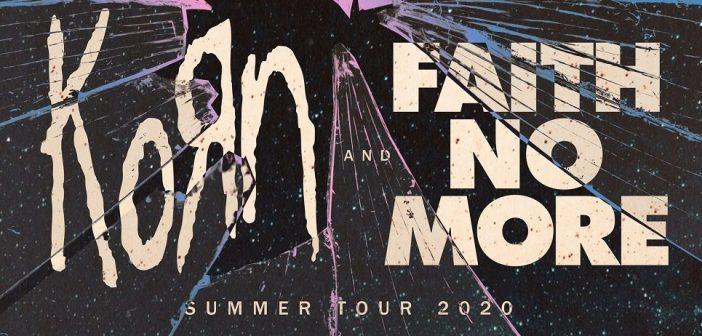 korn and faith no more 2020 tour