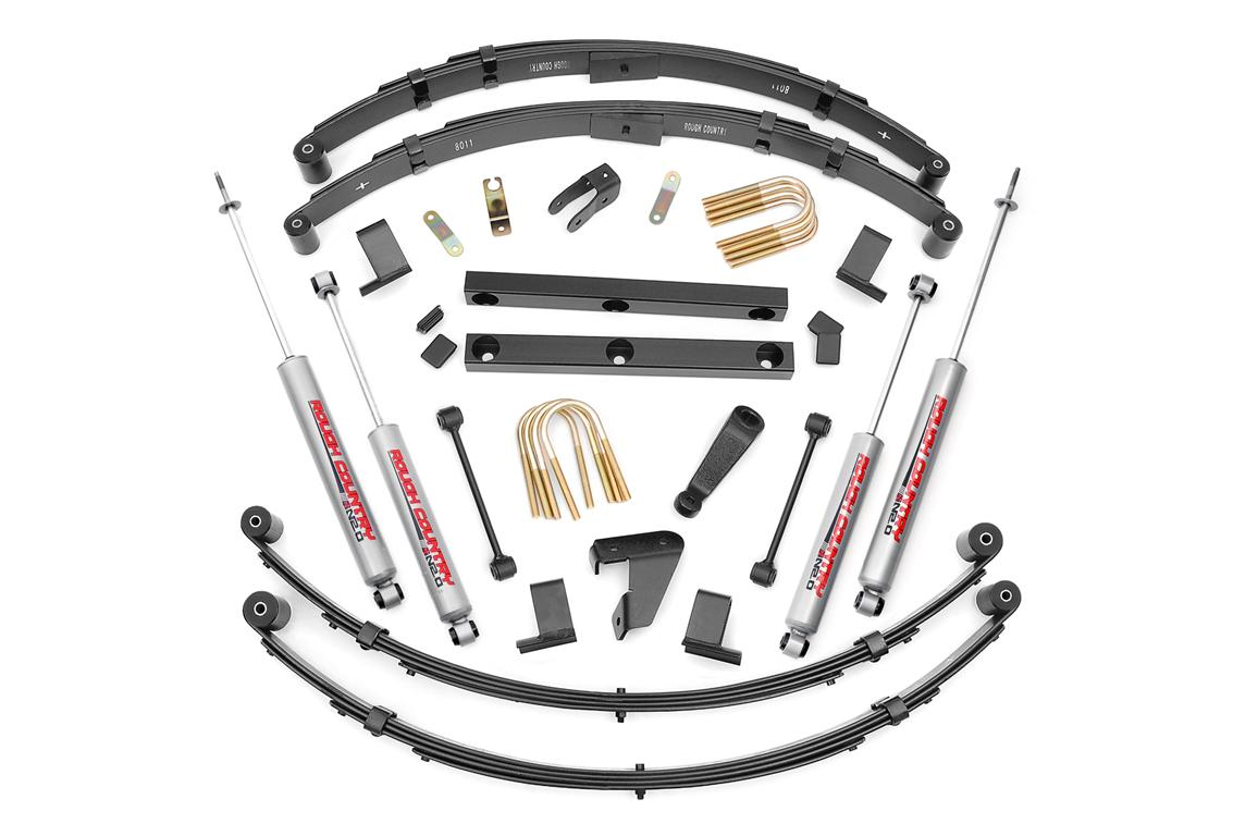 Rough Country 4 N2 Series Suspension Lift For Jeep Yj