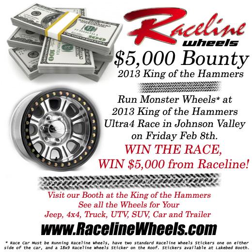 Raceline2013KOHBounty