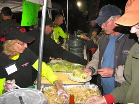 Raceline Volunteer Taco KOH 2013