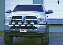 PIAA Dodge light bar