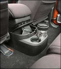 Rugged Ridge JK Rear Seat Organizer
