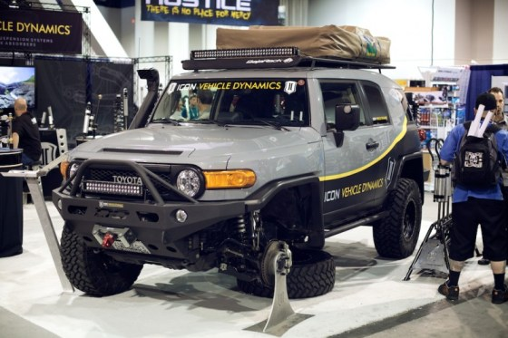 icon fj cruiser sema