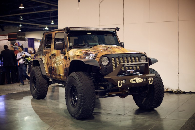 jeep wrangler light bar jk sema