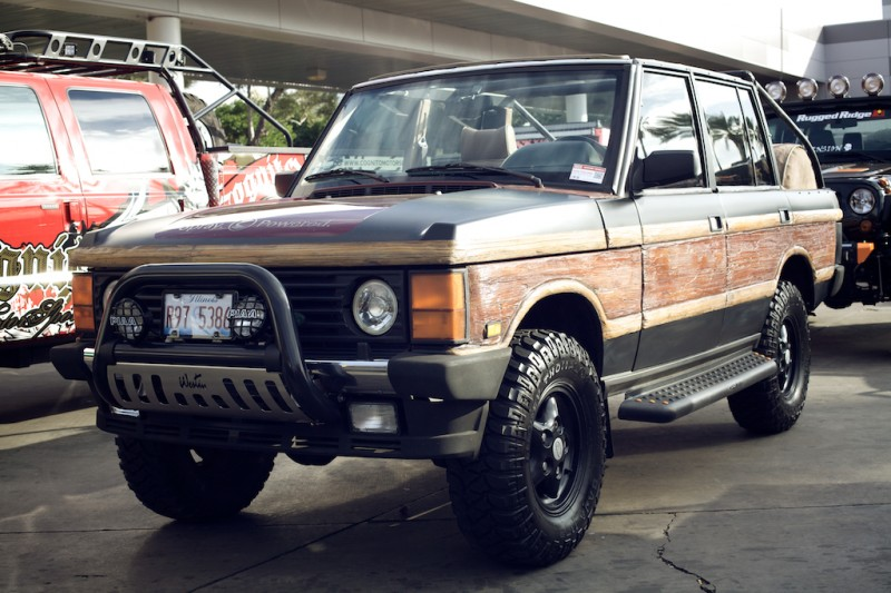 range rover classic convertible