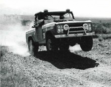 Back in the 1969, Ford Broncos, custom prepped by Bill Stroppe were the hot ticket for desert racing.