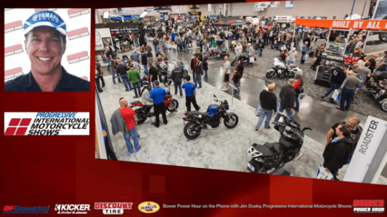 Bower Power Hour E36 International Motorcycle Shows