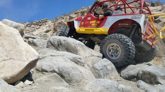 GEOLANDAR X-MT's on Chocolate Thunder in Johnson Valley