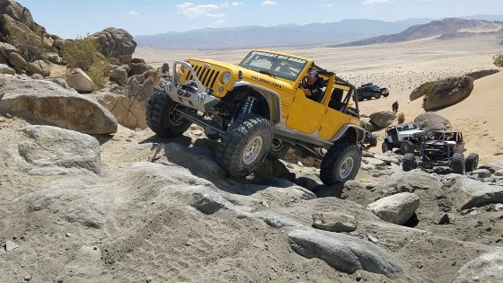Tony Pellegrino and his Terremoto climbing Chocolate Thunder on GEOLANDAR X-MT tires