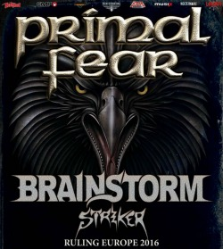 Primal Fear, Brainstorm y Striker en Murcia