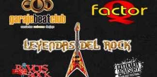 Factor Q Leyendas del rock