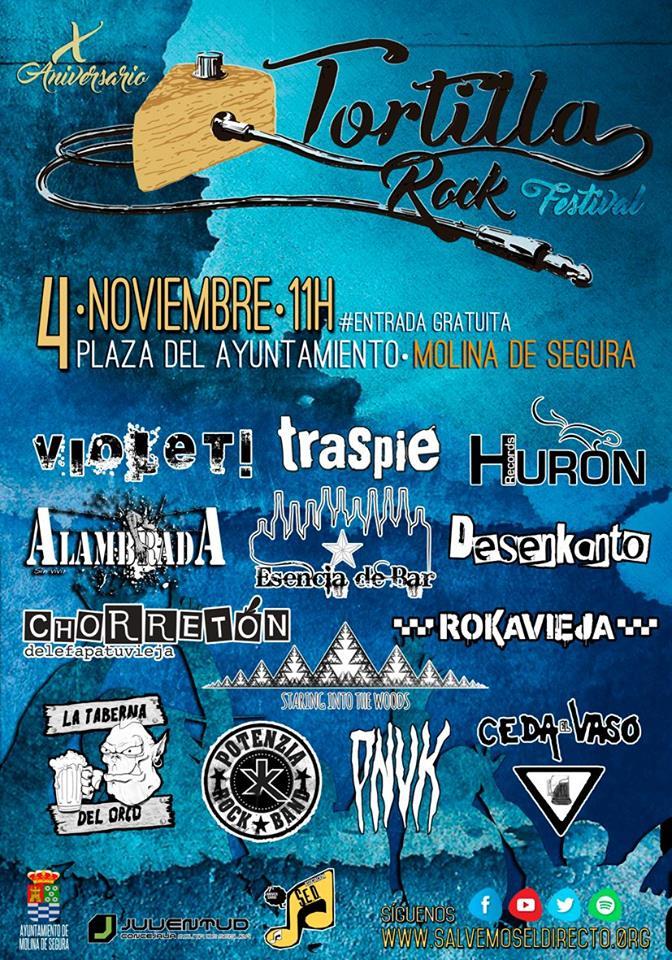 x tortilla rock