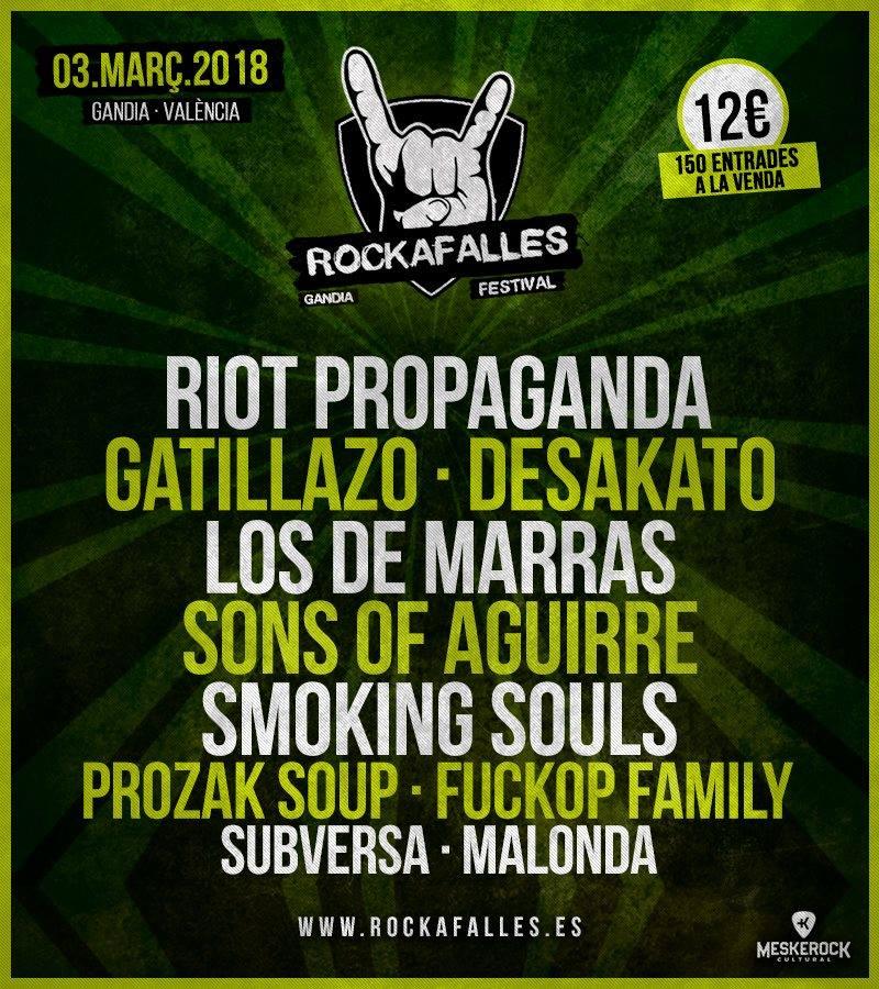 El festival Rockafalles completa su cartel