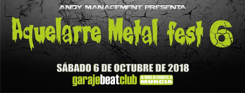 Aphonnic, Maleek y Toxovibora se suman al Aquelarre Metal Fest 2018