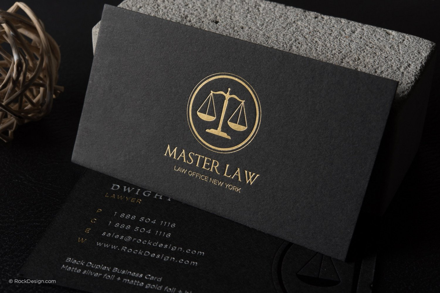 Attorney business cards templates cheaphphosting Images