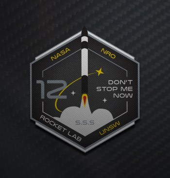 Rocket Lab 'Don't Stop Me Now' Mission Patch