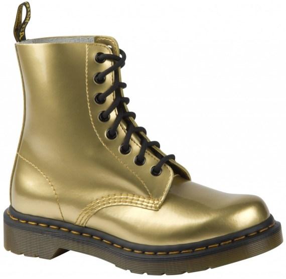 dr martens winter gold boots