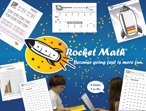 Rocket Math Worksheet Subscriptions | Rocket Math