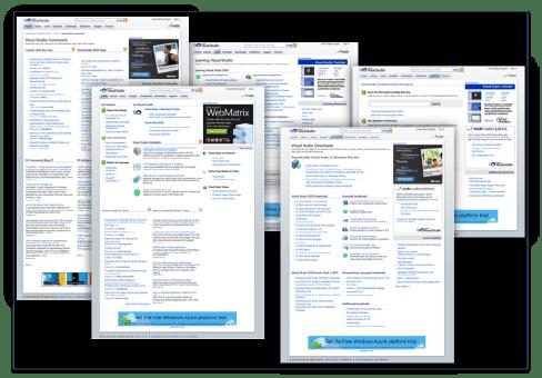 Microsoft Visual Studio Websites