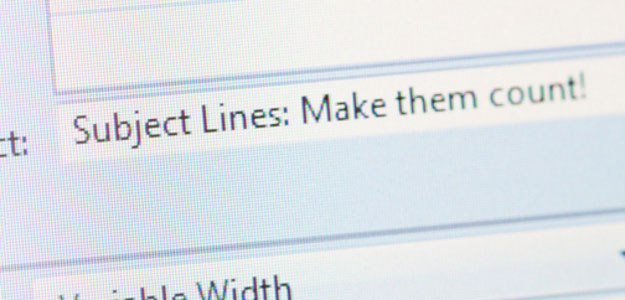 Why email subject lines are so important