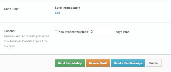 RocketResponder Save As Draft