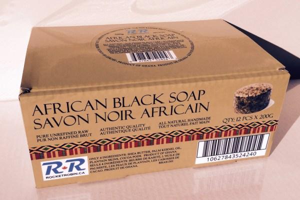 Black Soap 12 pack