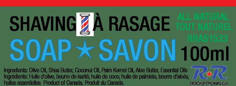 natural shaving soap bar