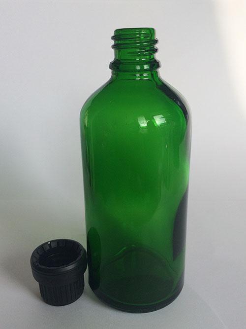 100 ml glass bottle