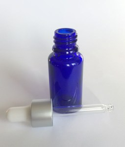 15 ml glass bottle eydropper