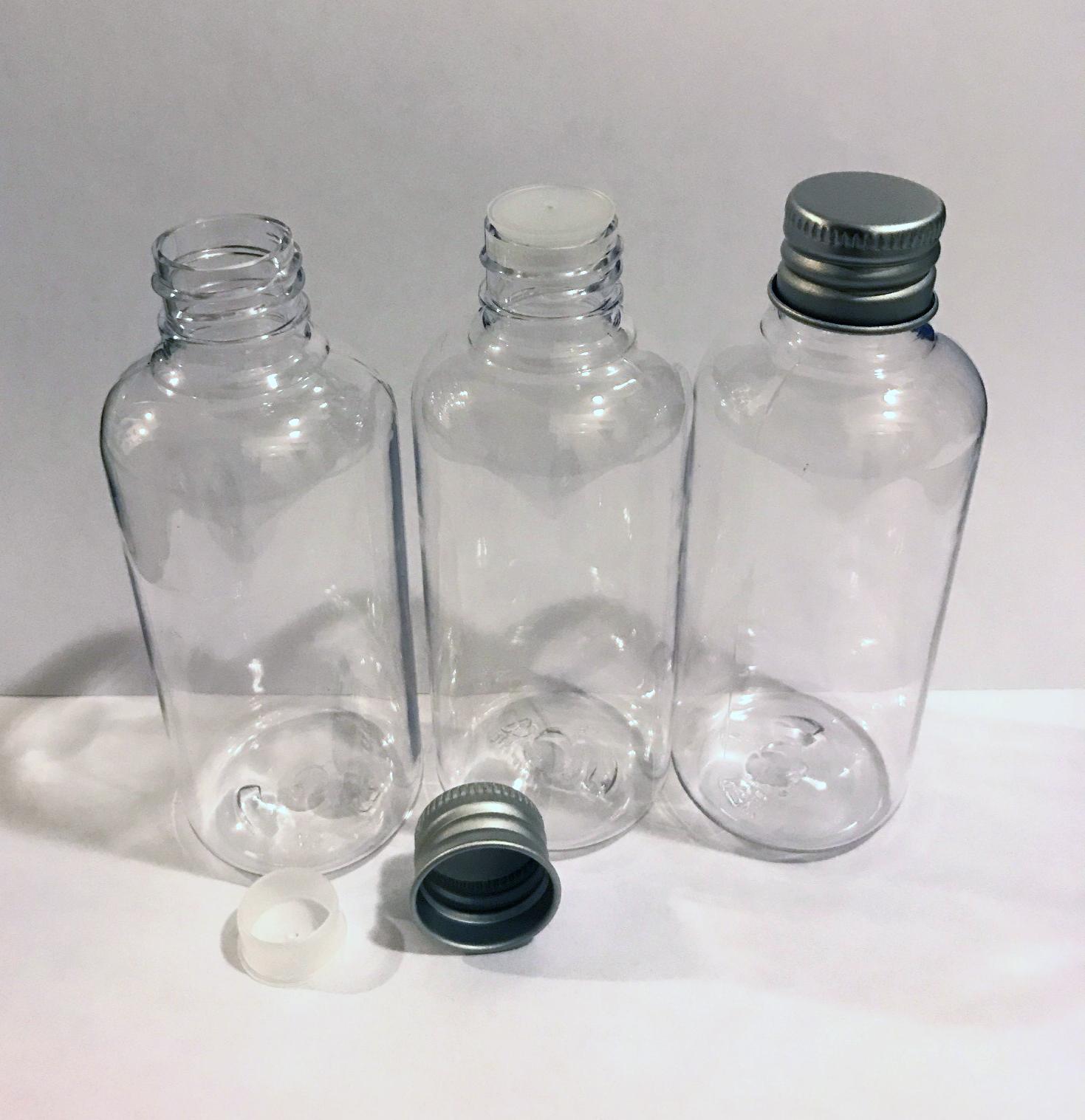 100 ml plastic bottle