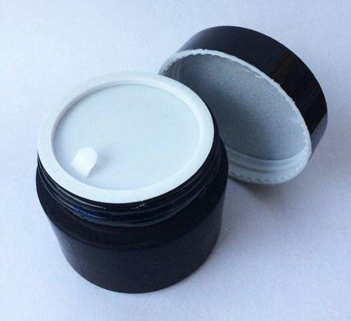 Glass cosmetic jar 2