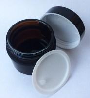 Glass cosmetic jar 3