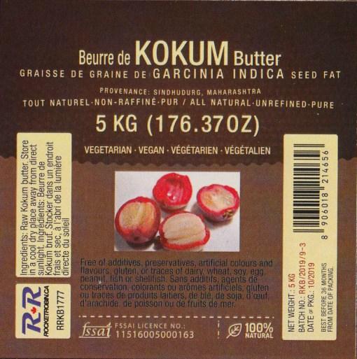 Kokum Butter 5kg