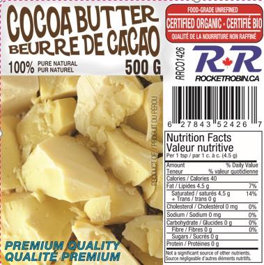 cocoa butter organic 1