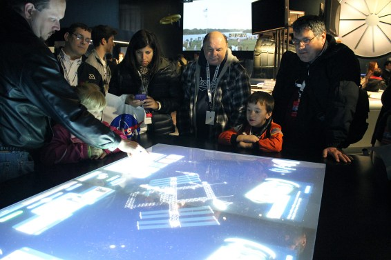During a NASA Social event in the nation's capital, 150 social media followers went on a tour of the Smithsonian Institution's Air and Space Museum. Photo: Nicole Solomon