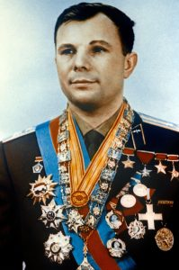 Russia's Yuri Gagarin, first man in space