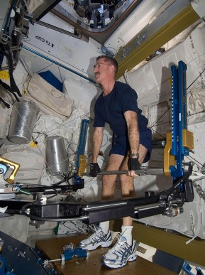 Astronaut Dan Burbank. Credit: NASA