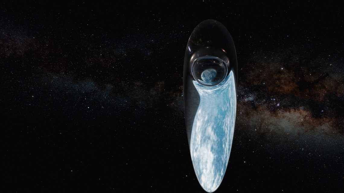 Host and astrophysicist Neil deGrasse Tyson sets off on the Ship of the Imagination to discover Earth's Cosmic Address and its coordinates in space and time. Image: Fox Broadcasting