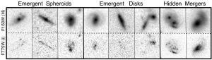 Image #6: Older, distant and 'hidden' galaxies. Credit: NASA/Boris Haeussler