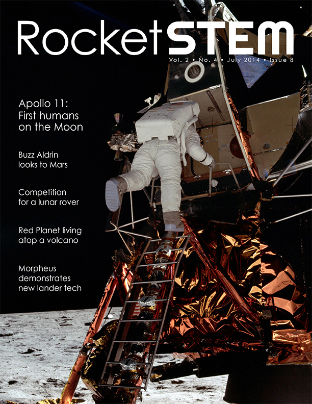 RocketSTEM July 2014 Front Cover
