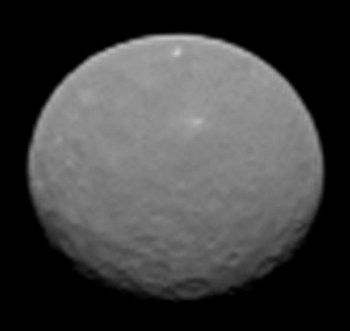 NASA's Dawn spacecraft took this image on approach to Ceres on Feb. 4, 2015 at a distance of about 90,000 miles (145,000 km). Credit: NASA/JPL-Caltech/UCLA/MPS/DLR/IDA
