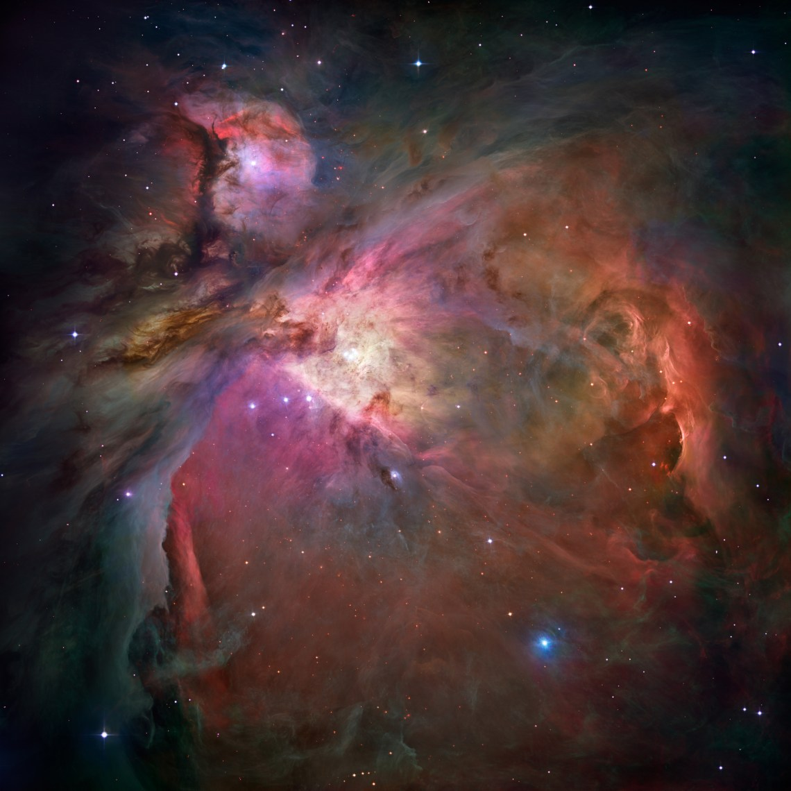 HUBBLE'S TOP 100 • #12 • Credit: NASA, ESA, M. Robberto (Space Telescope Science Institute/ESA) and the Hubble Space Telescope Orion Treasury Project Team