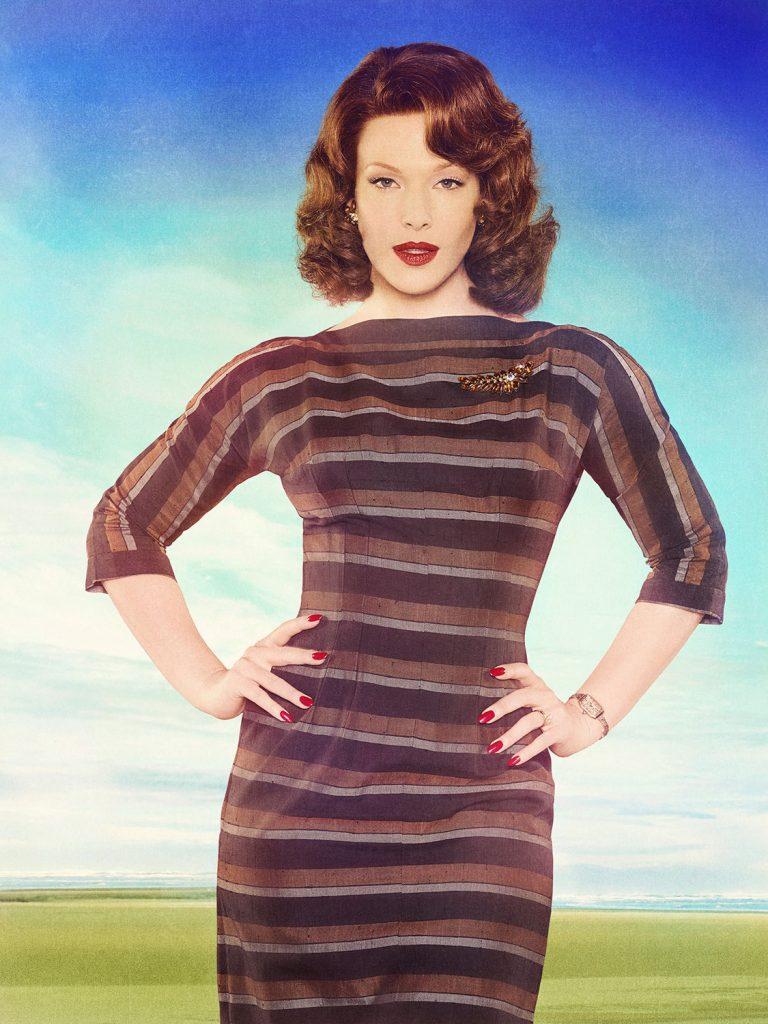 Erin Cummings as Marge Slayton. Credit: ABC/Bob D'Amico